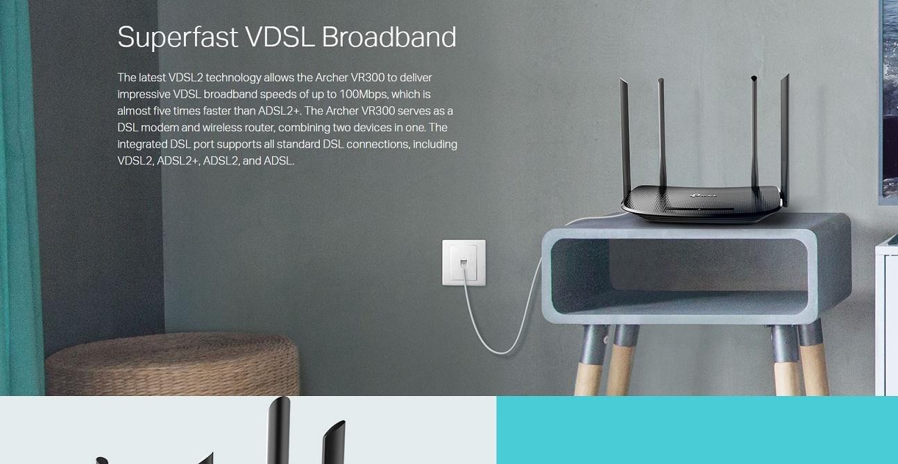 Tp Link Ac1200 Wireless Vdsl Adsl Modem Router Archer